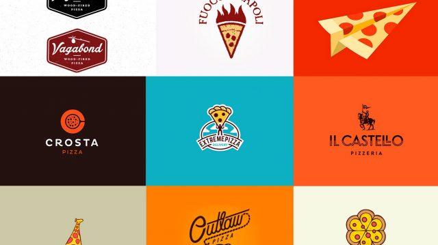 10 Logos Criativos: Pizzarias
