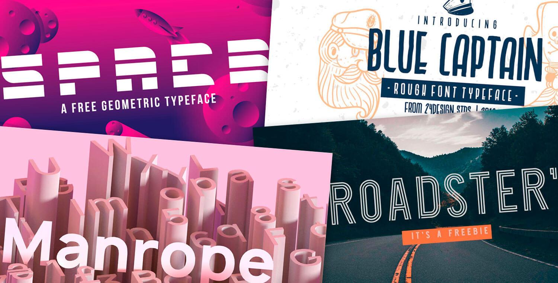 28 incríveis fontes gratuitas para download • Designerd