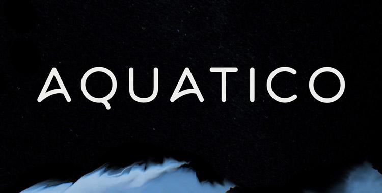 aquatico-baixar-fonte