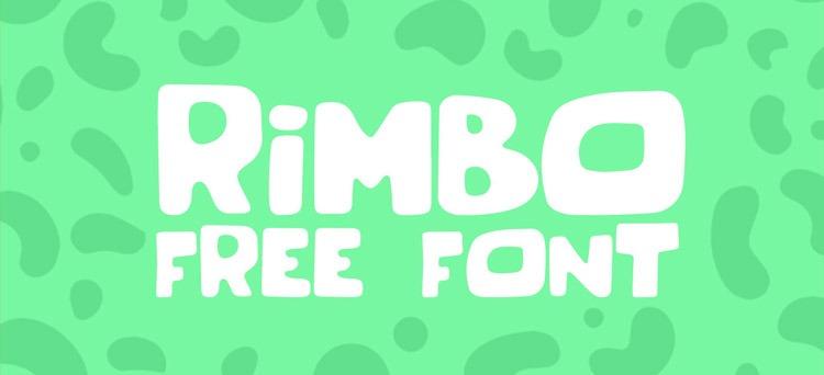 rimbo-free-font