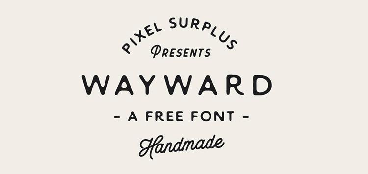 wayward-font-free