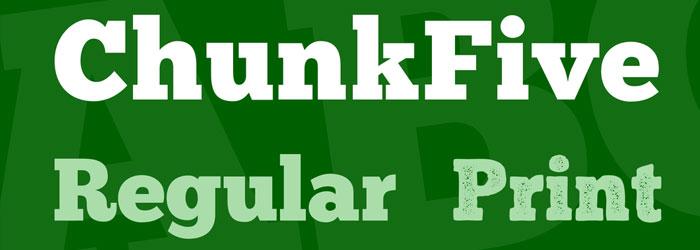 chunkfive-font-download