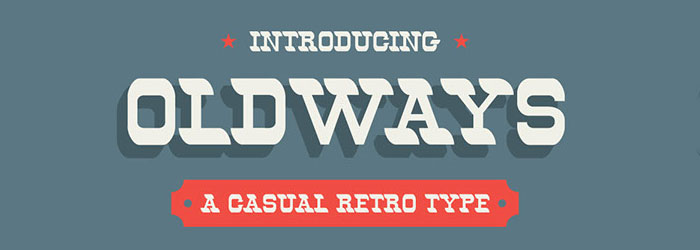 oldways-western-font-free