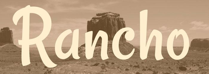 rancho-cowboy-font