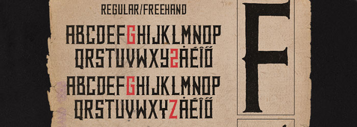 western-freehand-font