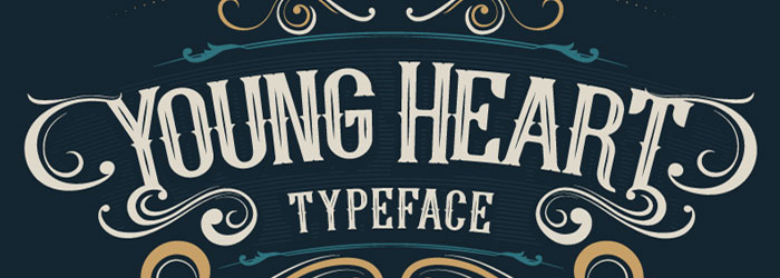young-heart-font-free