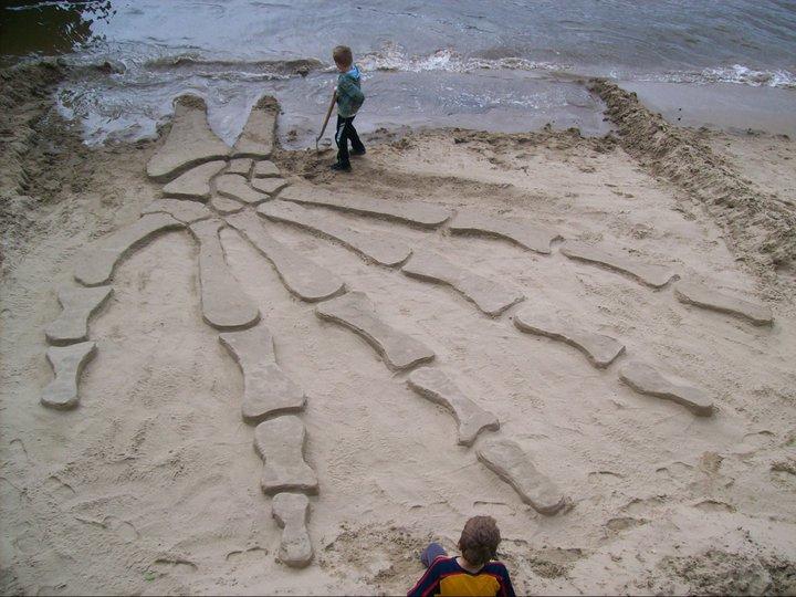 A incrível arte na areia de Martin Artman