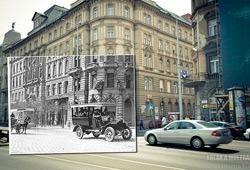 Janela para o passado: fotografias sobrepostas de Zoltan Kerenyi