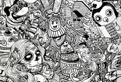 Porcolitos: belas ilustrações em diferentes superfícies