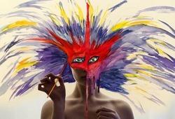 As cores em movimento de Aliza Razell