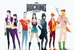 E se os super-heróis fossem membros de uma banda de rock?