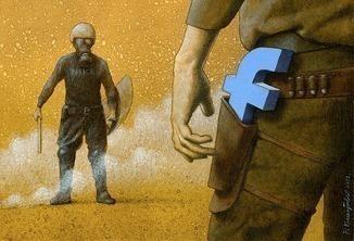 As provocativas ilustrações sobre Facebook de Pawel Kuczynski