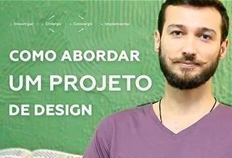 Como abordar um projeto de design