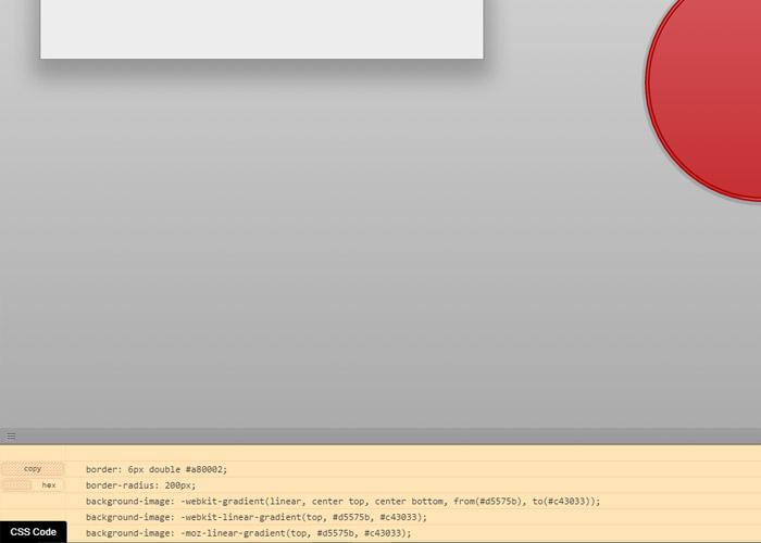 Ao finalizar, basta clicar no CSS Code no canto inferior da tela e copiar (copy)