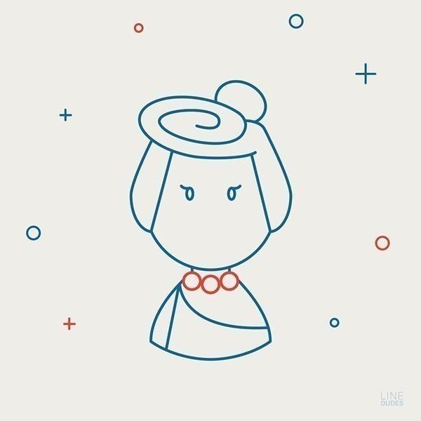 personagens-da-cultura-pop-em-ilustracoes-minimalistas-7.jpg (600×600)