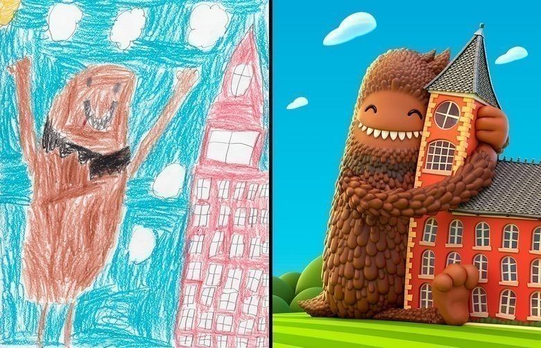 quando-varios-ilustradores-se-juntam-para-dar-vida-aos-monstros-desenhados-por-criancas-1