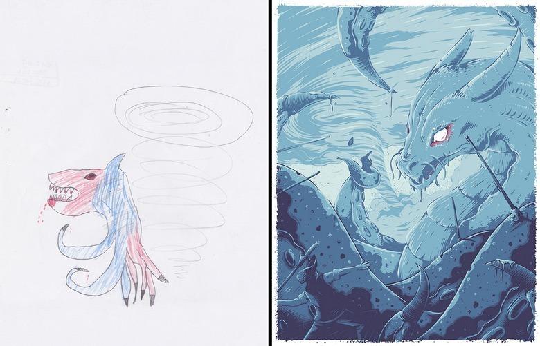 quando-varios-ilustradores-se-juntam-para-dar-vida-aos-monstros-desenhados-por-criancas-10