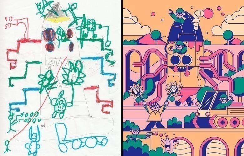 quando-varios-ilustradores-se-juntam-para-dar-vida-aos-monstros-desenhados-por-criancas-11
