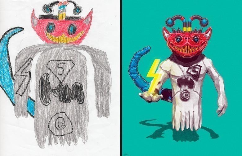 quando-varios-ilustradores-se-juntam-para-dar-vida-aos-monstros-desenhados-por-criancas-19