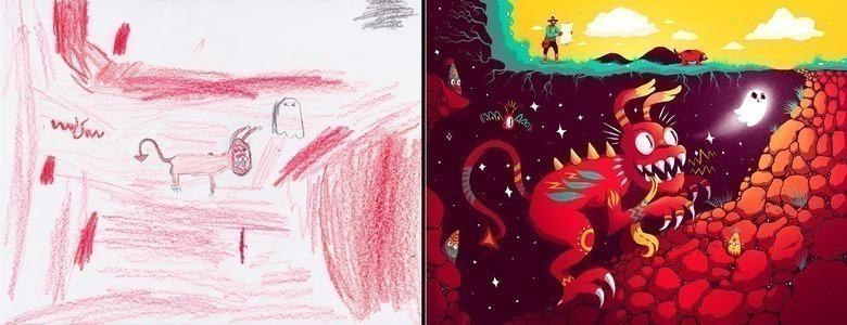 quando-varios-ilustradores-se-juntam-para-dar-vida-aos-monstros-desenhados-por-criancas-6