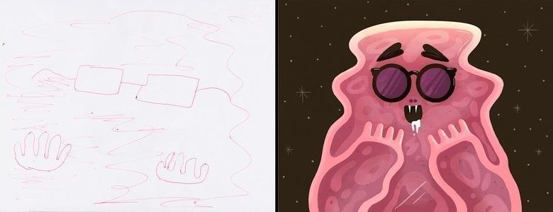 quando-varios-ilustradores-se-juntam-para-dar-vida-aos-monstros-desenhados-por-criancas-8
