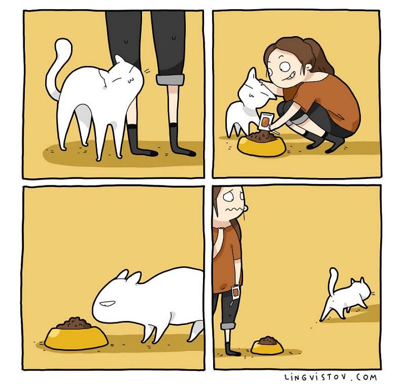 divertidas-ilustracoes-mostram-vida-de-quem-tem-um-gato-de-estimacao-1