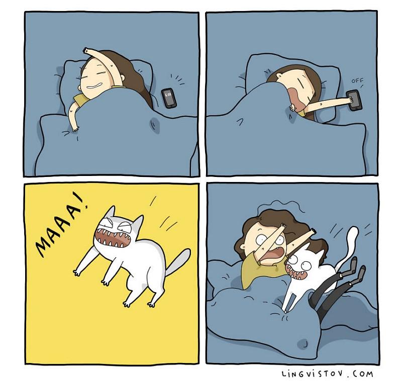 divertidas-ilustracoes-mostram-vida-de-quem-tem-um-gato-de-estimacao-6