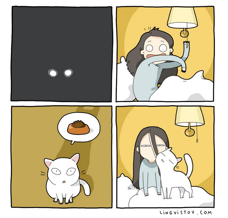 divertidas-ilustracoes-mostram-vida-de-quem-tem-um-gato-de-estimacao-8