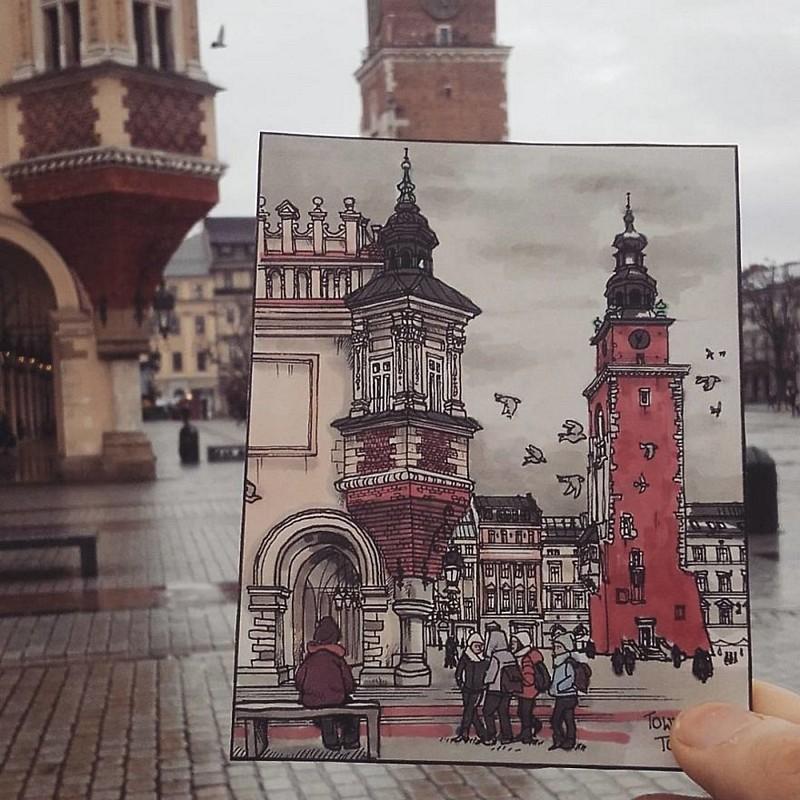ele-faz-pequenas-ilustracoes-dos-lugares-que-visita (4)