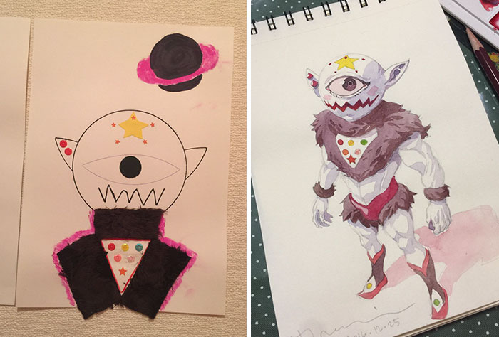 ilustrador-decide-transformar-os-desenhos-dos-filhos-em-personagens-de-anime (4)
