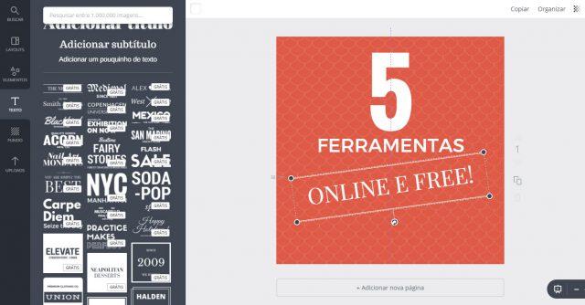 5 ferramentas online e gratuitas para criar imagens para redes sociais