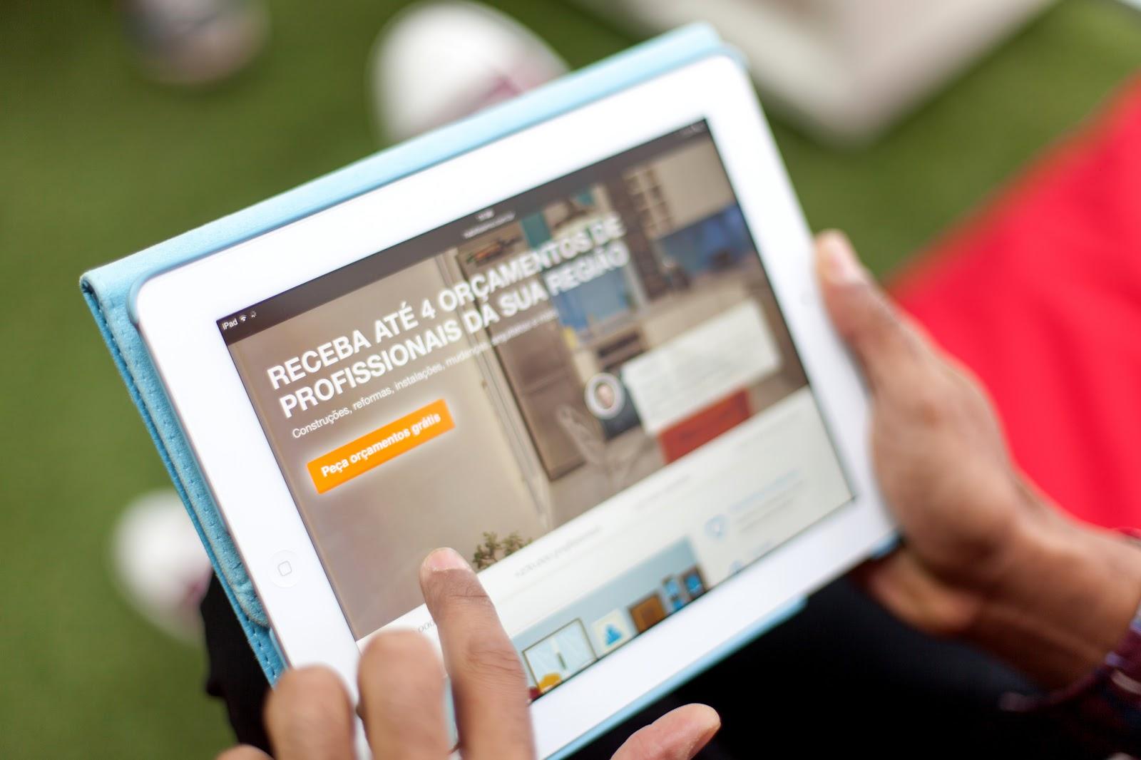 Conheça o Habitissimo, o aplicativo que te ajuda a encontrar profissionais para reformar ou decorar sua casa