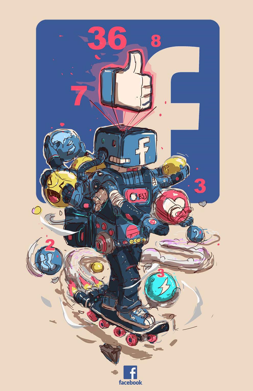 dcddd7cd4 Marcas famosas personificadas nas ilustrações de Esoj Luna • Designerd