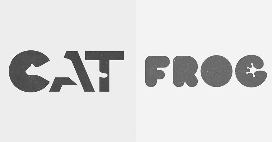 Tem Na Web - Ele cria belos logotipos de animais utilizando espaço negativo
