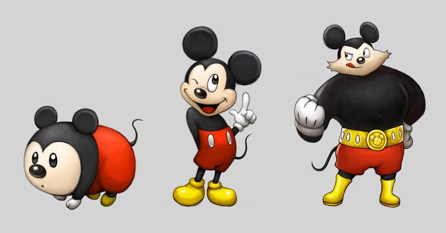 Tem Na Web - Esse ilustrador imaginou personagens da Disney como Pokémons com suas evoluções