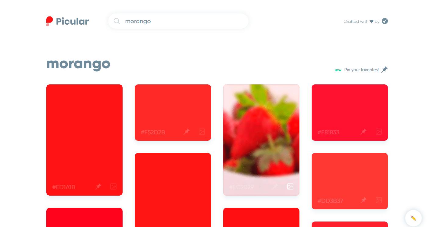 Picular: uma ferramenta de busca para cores